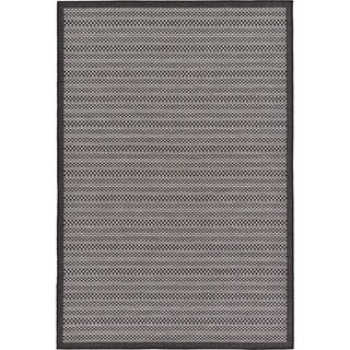 Unique Loom Checkered Outdoor Area Rug - 5' 3 x 8'