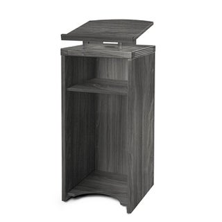 Mayline Brighton Series Brown Laminate Lectern