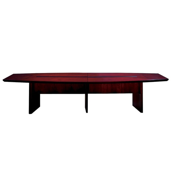 Mayline Napoli W X D Boat Shaped Conference Table Free - 14 foot conference room table