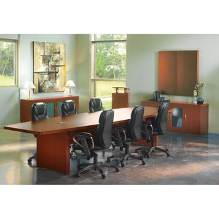 Mayline Aberdeen Series 18-inch Boat-surface Conference Table