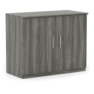 Mayline Medina Series 36-inch Storage Cabinet with Wood Doors