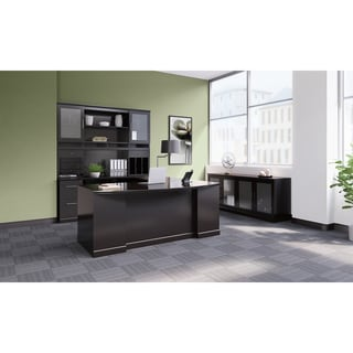 Mayline Sorrento Series U-Shaped Configurations Veneer U-Shape Desk