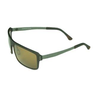 Serengeti Duccio Men's Brown Plastic Polarized Sunglasses