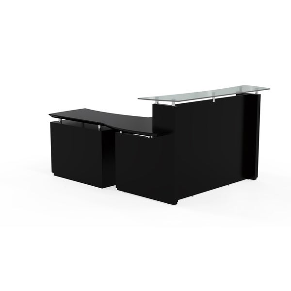 Mayline Sterling Series 72 Inch Reception Desk With Single