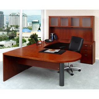 Mayline Mira Series Typical #16 Executive Desk