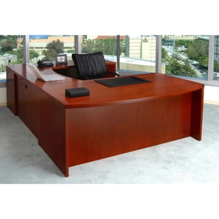 Mayline Mira Series Typical #7 Executive Desk