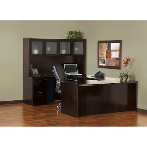 Mayline Mira Series Typical Office Suite 9