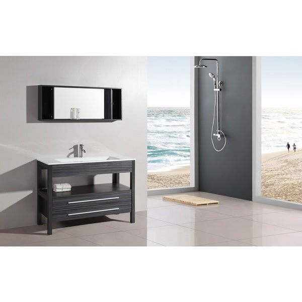 Shop legion furniture 48 inch bathroom vanity and mirror for 48 inch mirrored bathroom vanity