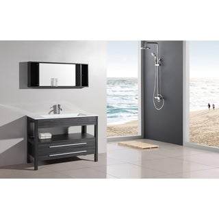 Legion Furniture 48-inch Bathroom Vanity and Mirror Set
