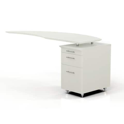"Mayline Medina 63""W Right Return for use with Desks, sold separately"
