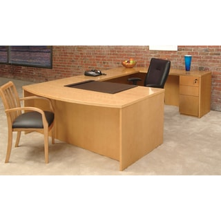 Mayline Luminary Series Typical Number 8 Executive Desk Furniture Set