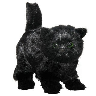 "The Queen's Treasures AWSOM Pets! Black Kitty Fits 18"" Girl Doll Accessories"