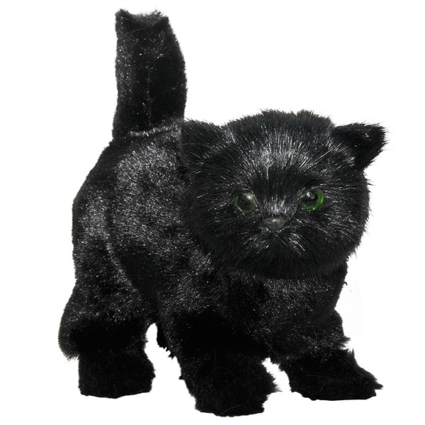 """The Queen's Treasures AWSOM Pets! Black Kitty Fits 18"""" Girl Doll Accessories"""