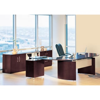 Link to Mayline Napoli Series Typical Office Suite 15 Similar Items in Desks & Computer Tables