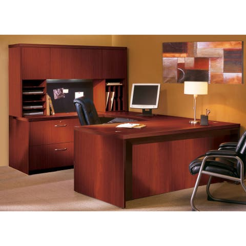 Mayline Aberdeen Series Typical 2 Office Suite