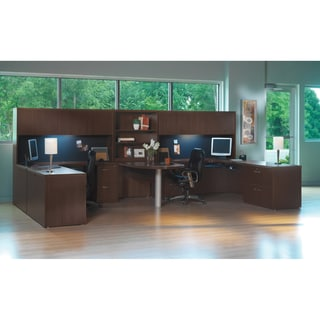 Mayline Aberdeen Series Typical 18 Office Suite