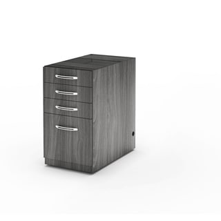 Mayline Aberdeen Series Pbbf/Ped Vertical Credenza File Cabinet
