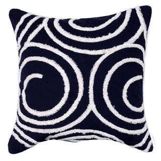 18-inch Square Embroidered Pillow
