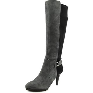 Tahari Women's 'Greyson' Grey Suede Boots