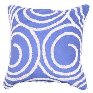 18-inch x 18-inch Embroidered Pillow