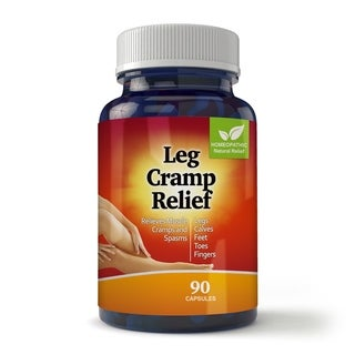 Natural Leg and Foot Cramp Relief for Day and Night Capsules