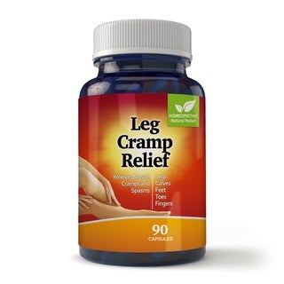 Natural Leg and Foot Cramp Relief for Day and Night Capsules (Case of 90)