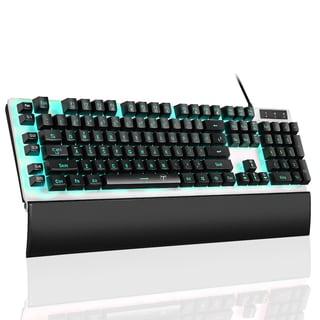 Black Wired Adjustable 26-key Anti-ghosting Gaming Keyboard