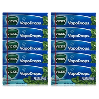 Vicks VapoDrops Menthol Cough Drops