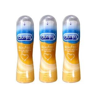 Durex Real Feel Intimate 1.7-ounce Pleasure Gel and Personal Lubricant (Pack of 3)