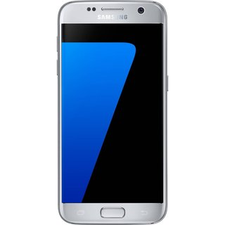 Samsung Galaxy S7 SM-G930F 32GB Titanium Silver Unlocked Smartphone Without Warranty