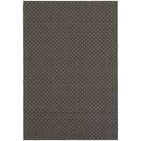 Gracewood Hollow Plamondon Lattice Grey/ Charcoal Indoor/ Outdoor Area Rug - 3'3 x 5'