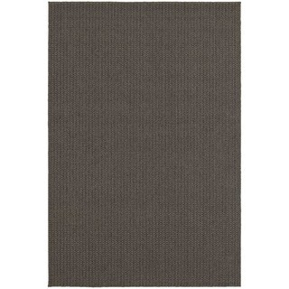 Carbon Loft Biro Solid Charcoal/ Grey Indoor/ Outdoor Area Rug - 3'3 x 5'