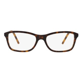 Burberry BE2174 3002 Dark Havana Plastic Butterfly Full rim Eyeglasses with 53mm Lens