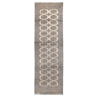 Herat Oriental Pakistani Hand-knotted Bokhara Wool Rug (2'8 x 8'10)