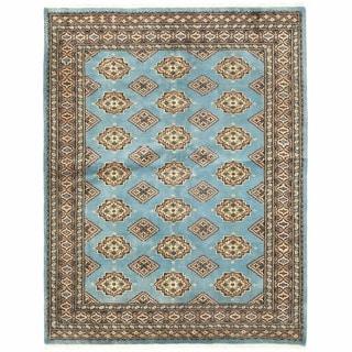 Herat Oriental Pakistani Hand-knotted Bokhara Wool Rug (4'9 x 6'1)
