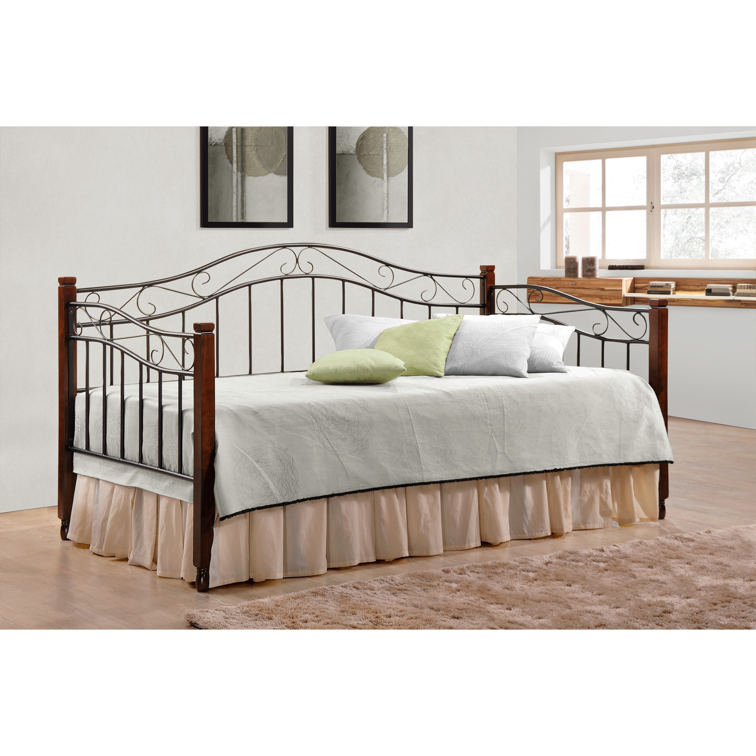Coaster Furniture Cinnamon and Black Twin Daybed (Daybed)