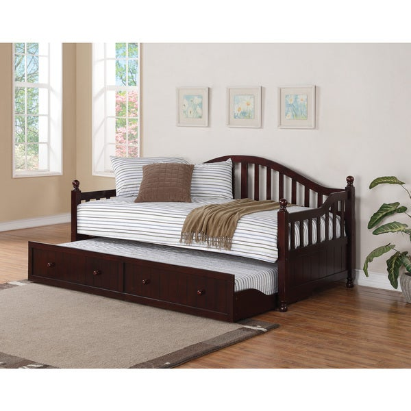Shop Coaster Company Cappuccino Twin Size Trundle Daybed