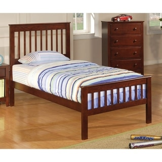 Coaster Company Brown Wood Twin Panel Bed