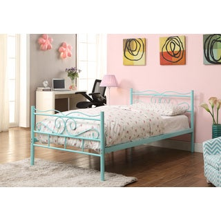 Coaster Company Imelda Bailey Metal Twin Bed (Mint Green)