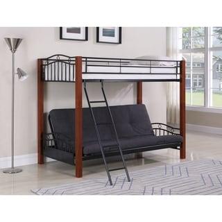 Coaster Company Black Futon Bunk Bed