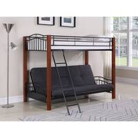 Coaster Company Black Futon Bunk Bed