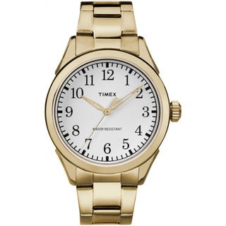 Timex Men's Briarwood Terrace Goldtone Stainless Steel Bracelet Watch