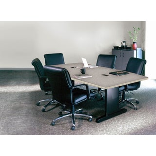 Mayline Csii Conference 72-inch x 36-inch Rectangular Conference Table with Premier Leg & Grommets