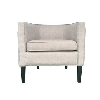 Taupe Stallion Linen Lulu Chair