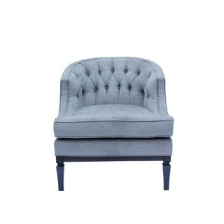Grey Gleam Linen Ashley Chair