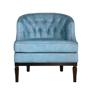 Sky Blue Gleam Linen Ashley Chair