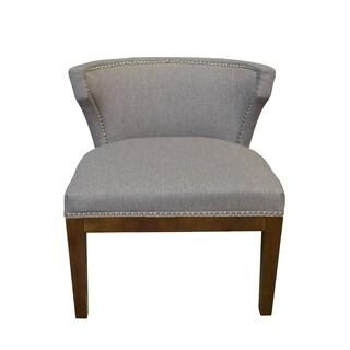 Taupe Stallion linen Kyra Chair