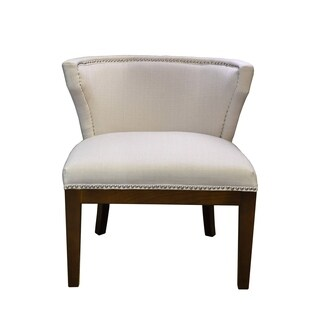 Kyra Chair Ivory Stallion Linen