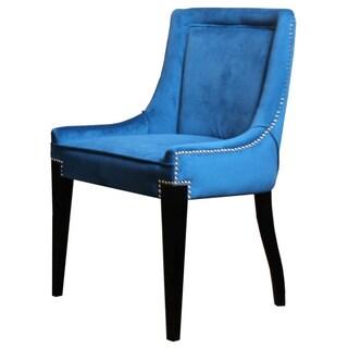 Giselle Teal Castalina Velvet Chair