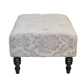 Swansea Grey St. Honore Ottoman